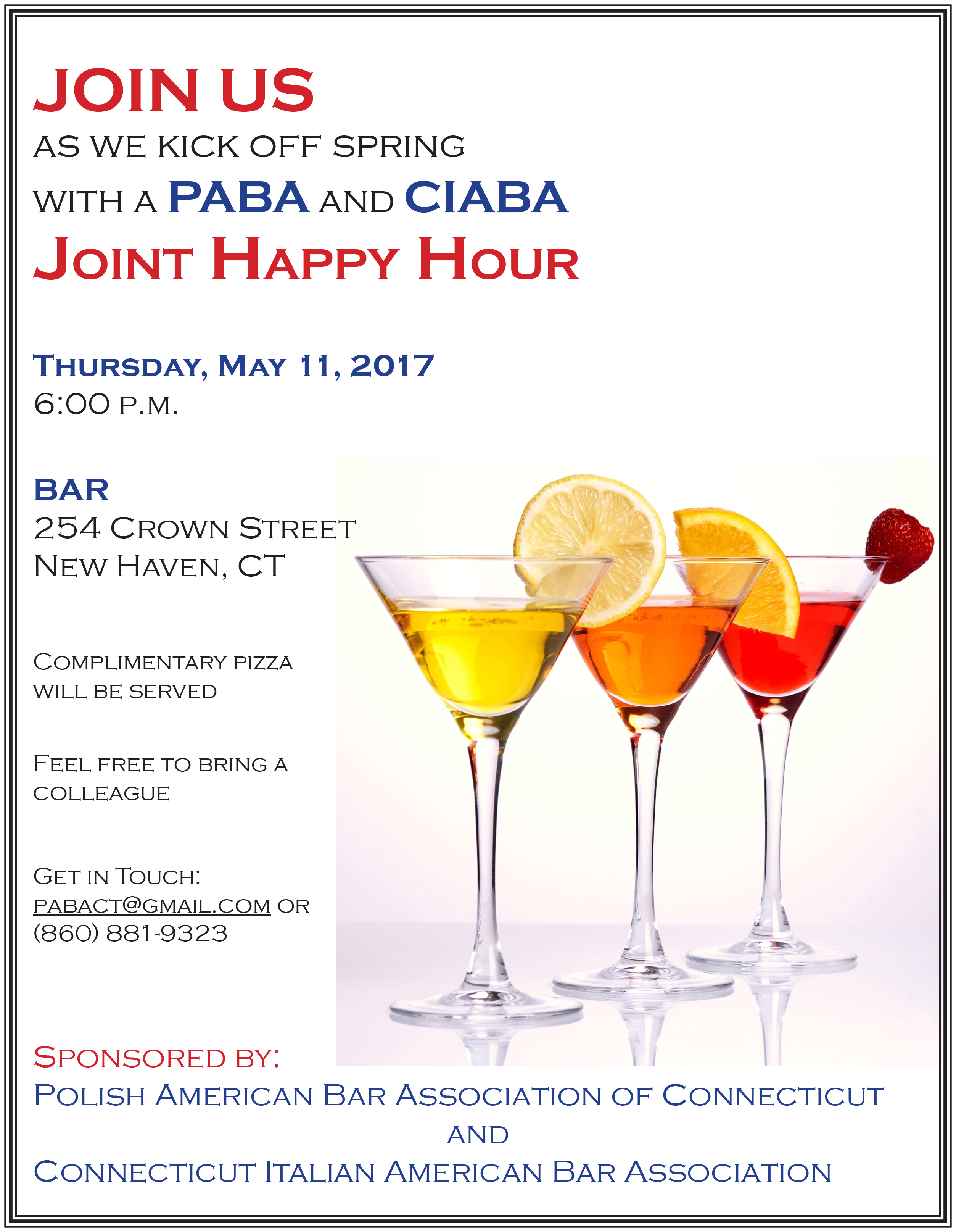 Joint Happy Hour @ BAR | New Haven | Connecticut | United States